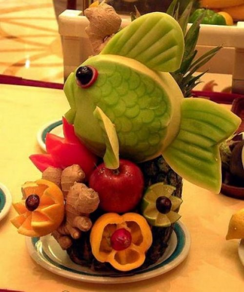Pics obsession creative food art for Art of food decoration