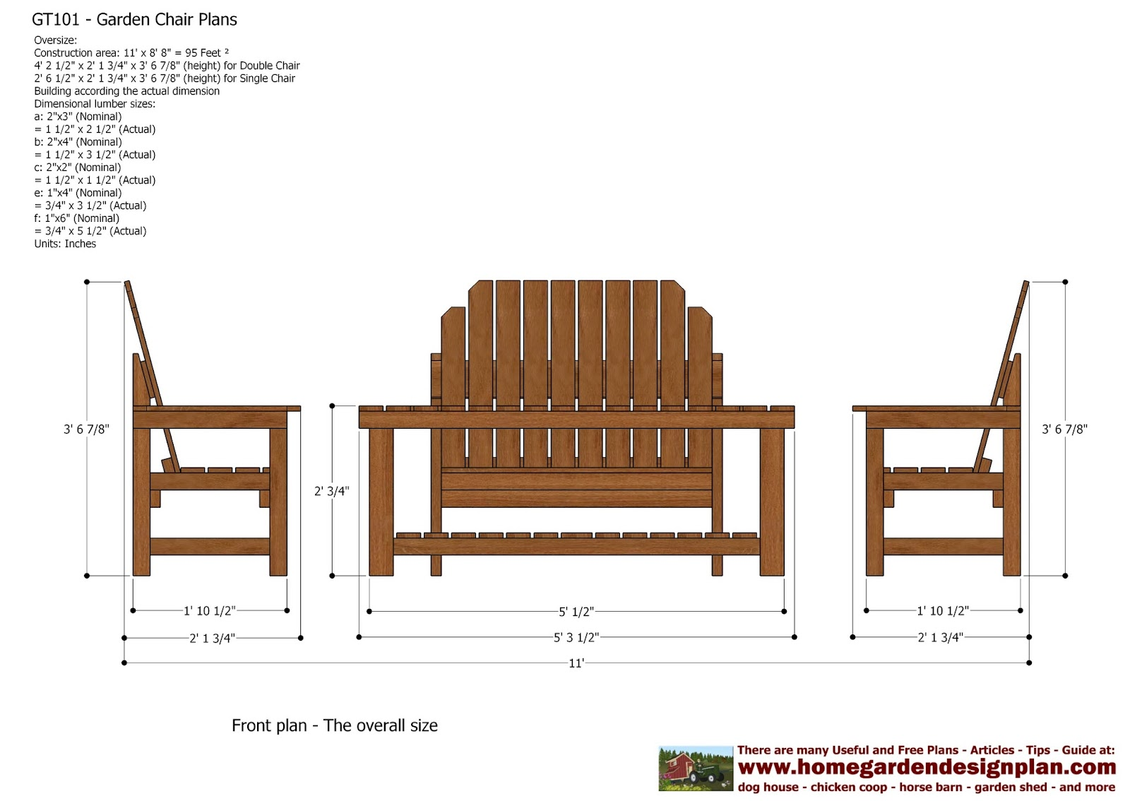 Garden Furniture Plans home garden plans: july 2012
