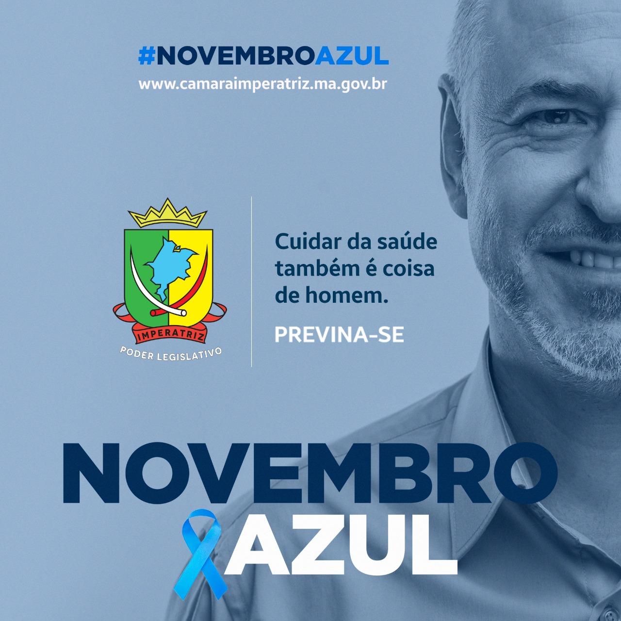 Câmara municipal - Novembro Azul