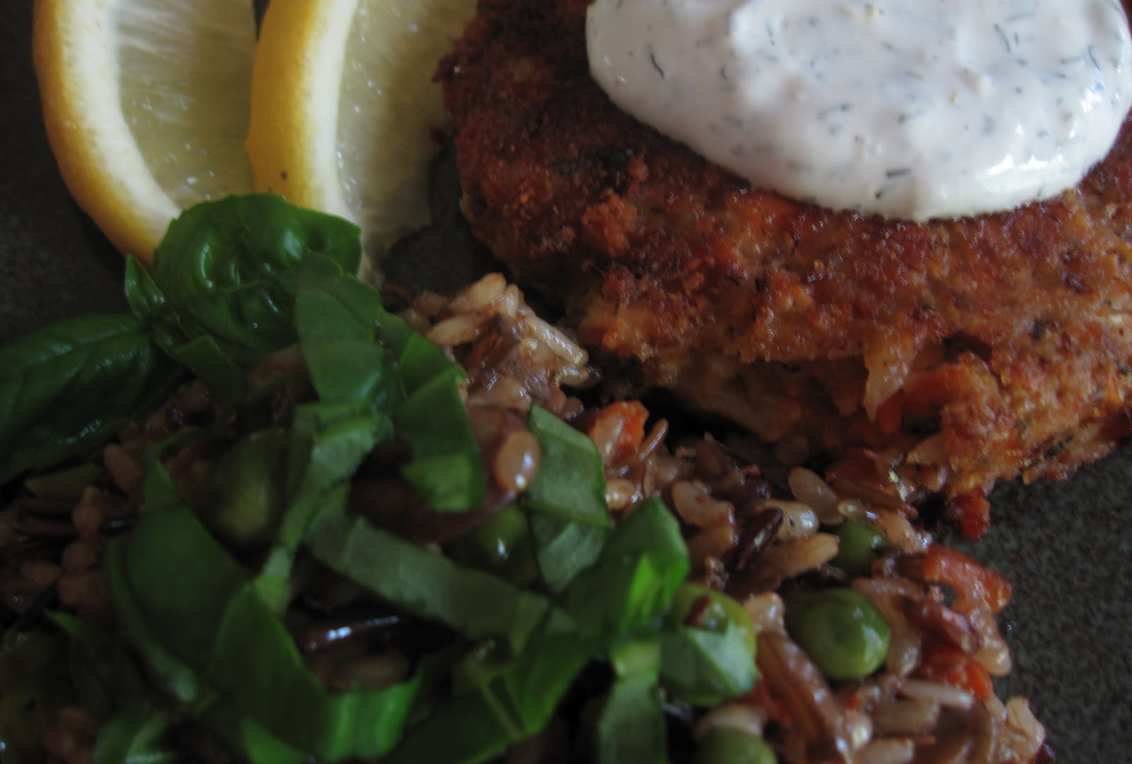 how to make salmon patties without frying