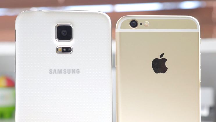 adu kamera Samsung Galaxy S5 VS Apple Iphone 6