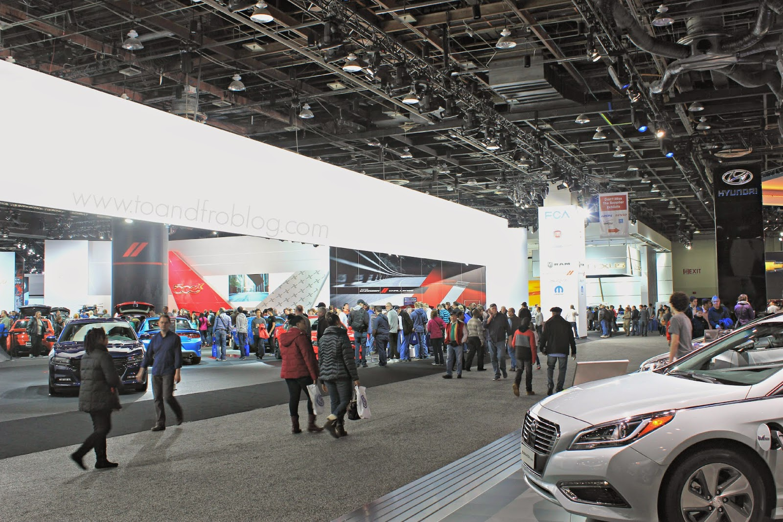 inside the north american auto show