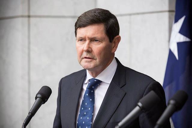 Australian Defense Minister Kevin Andrews