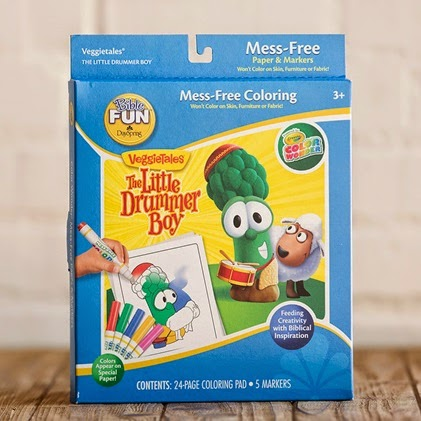 image Little Drummer Boy Colour Wonder Veggie Tales Set -  10,99 Day Spring shows Larry