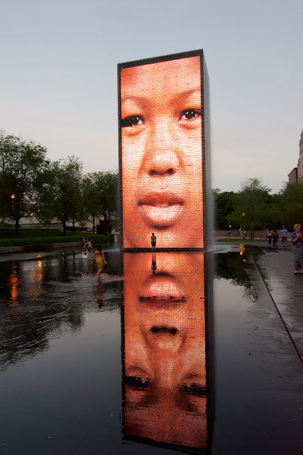 Crown Fountain - Jaume Plensa en Chicago