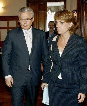 Garzón y la Fiscal Dolores Delgado