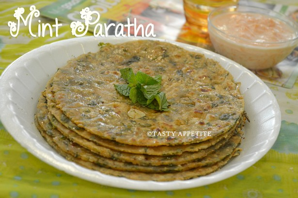 Mint Paratha / Pudina Paratha : Like us onYoutube for more Video ...