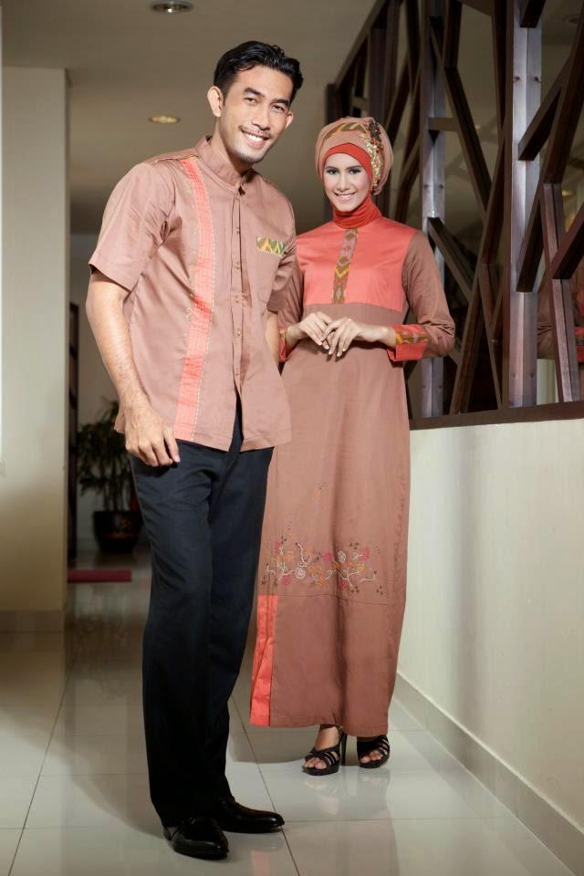 Baju pesta muslim couple modern modis
