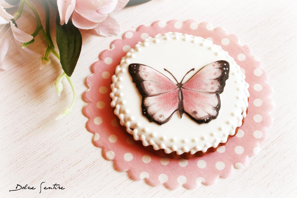 Cómo decorar galletas con imágenes con volumen: Galletas de Mariposa