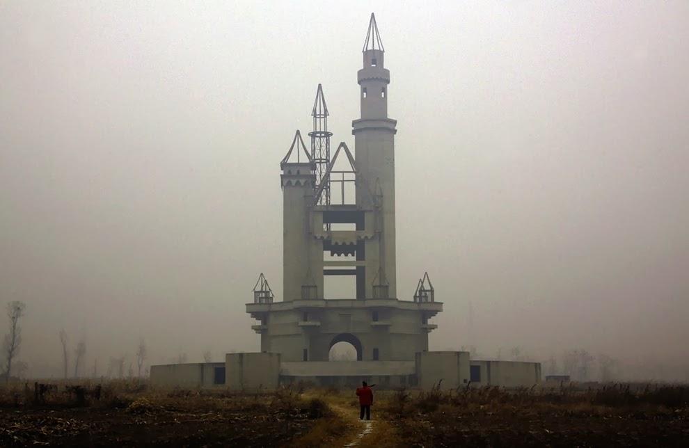Parque de diversiones de Disney abandonado, Beijing, China