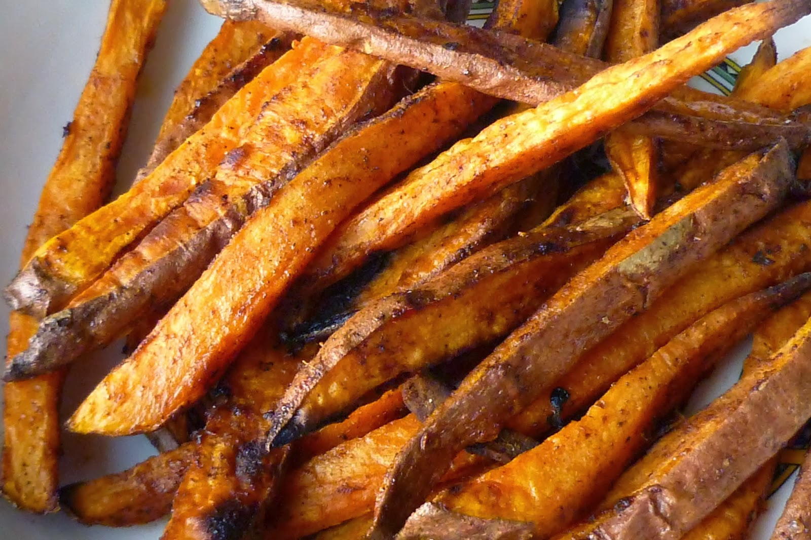 Baked Sweet Potato Fries | Foto Artis - Candydoll