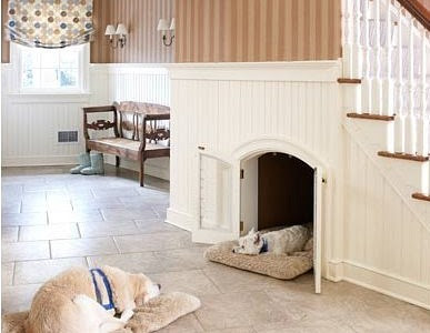 We LOVE Pet Friendly Homes... Make Use Of The Space Under A Staircase!
