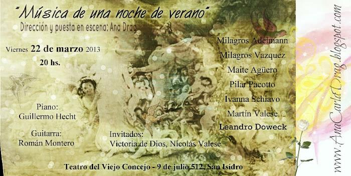 Show marzo 2013 - San Isidro