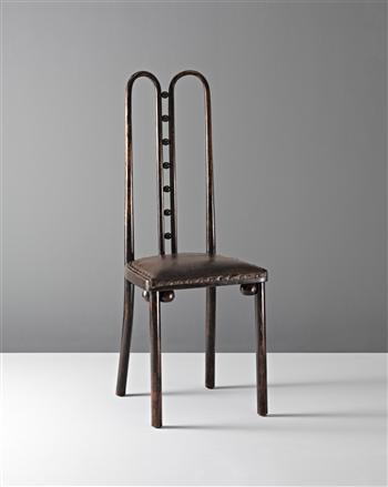 """Seven ball'  chair, model 371  Josef Hoffmann for J. &. J. Kohn,"