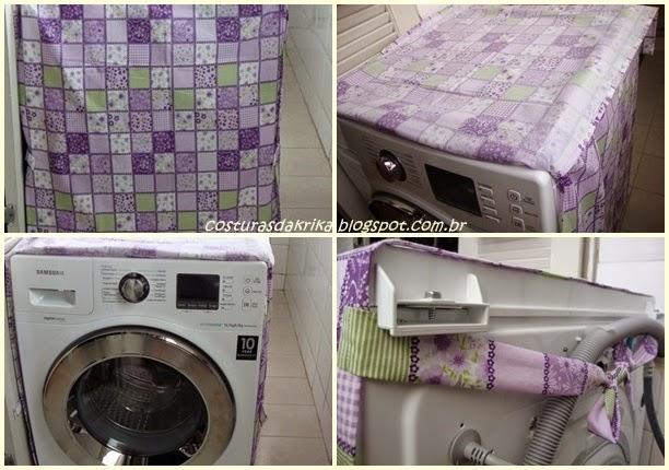 capa para lavadora