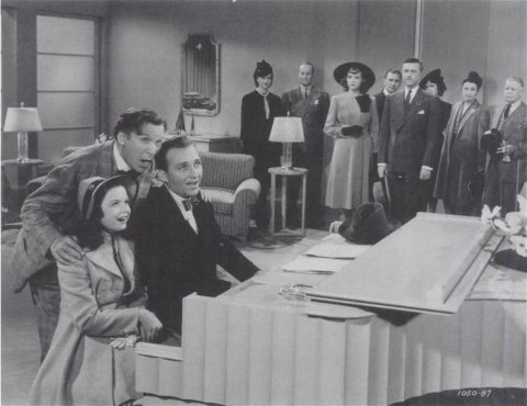 Gloria Jean, El Brendel and Bing Crosby in If I Had My way
