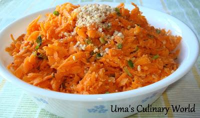 Vegan Carrot Salad