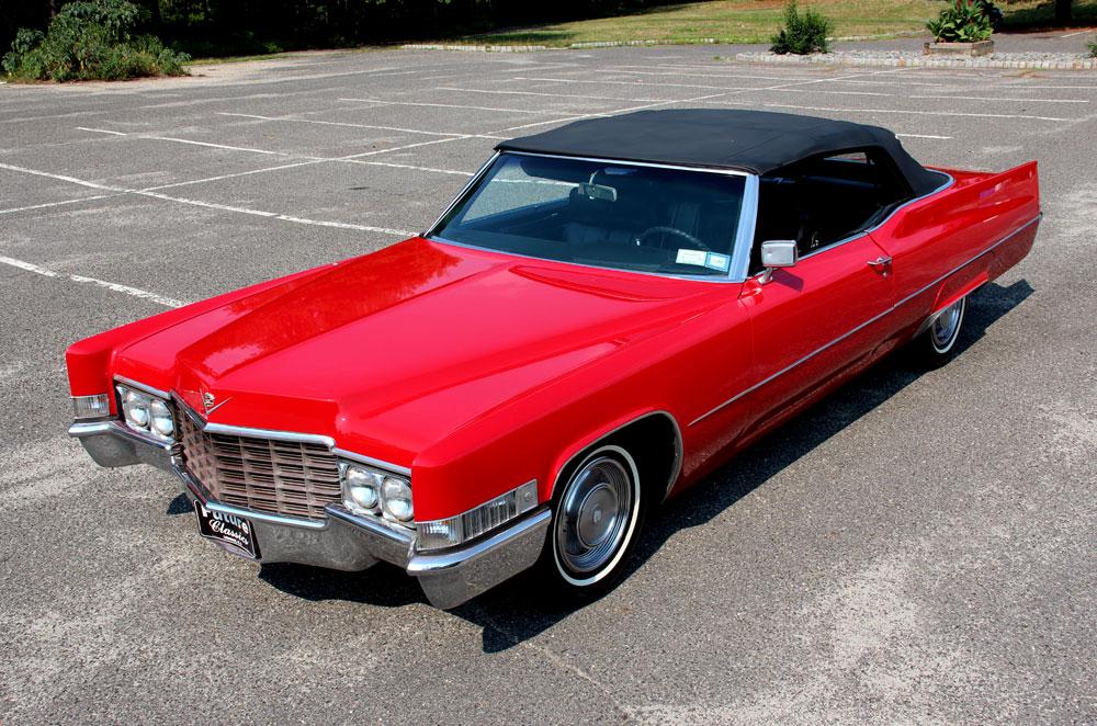 Classic Cars 1969 Cadillac Deville