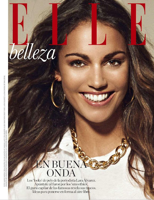 TV Presenter, Journalist @ Lara Alvarez - Elle Spain, June 2015