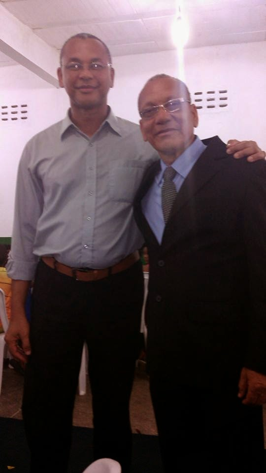 Meu pai (José Carlos) e eu!