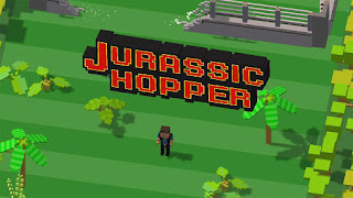 Screenshots of the Jurassic hopper for Android tablet, phone.