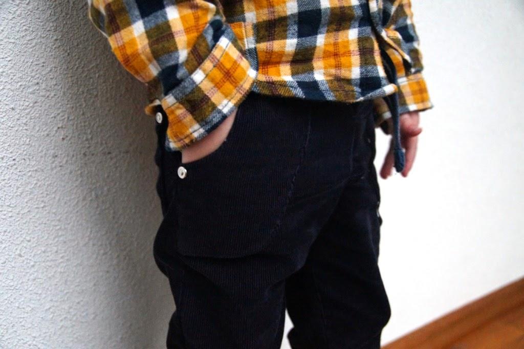 small fry skinny jeans free 2T (pattern Titchy Threads) - huisje boompje boefjes