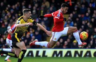 HT: Watford vs Manchester United 0-1