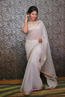 Anjali latest Glamorous pics in saree 045