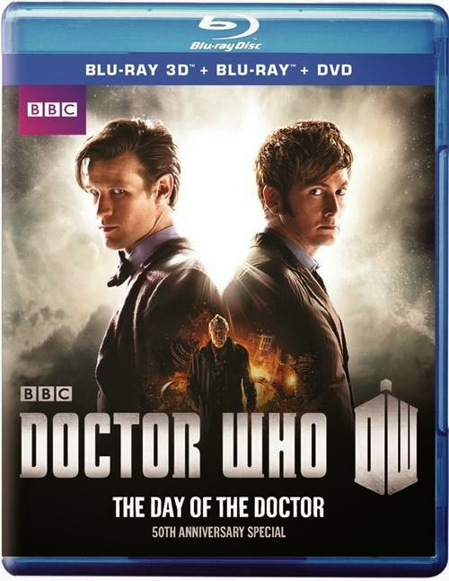 Doctor Who 50th Anniversary Special The Day of the Doctor (Blu-ray 3D + Blu-ray + DVD Combo)