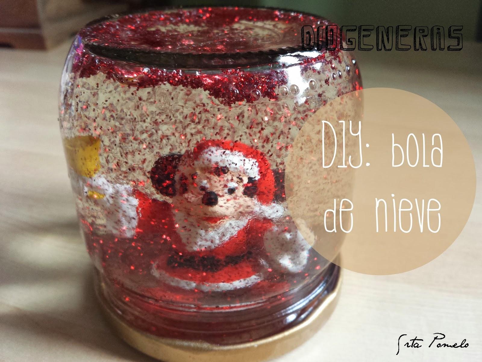 Srta pomelo 5 diogeneras especial navidad una bola de - Bola nieve navidad ...
