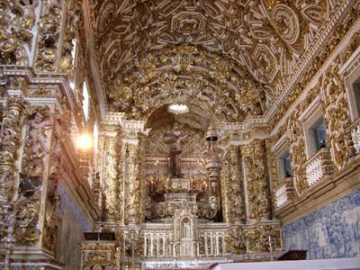 Iglesia del Rosario - Brasil, Interior de la Iglesia del Rosario - Brasil, Planta de la Iglesia del Rosario - Brasil, Exterior de la Iglesia del Rosario - Brasil