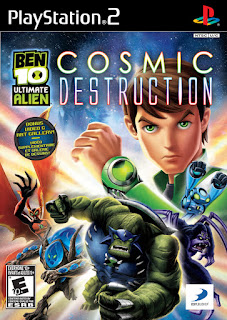 Ben 10 Ultimate Alien Cosmic Destruction (PS2)