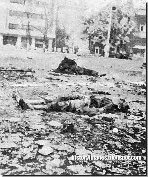 Germans killed Prague 1945