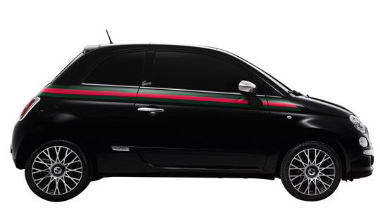 Newsgallery Gucci S First Car The Fiat 500 Gucci Edition