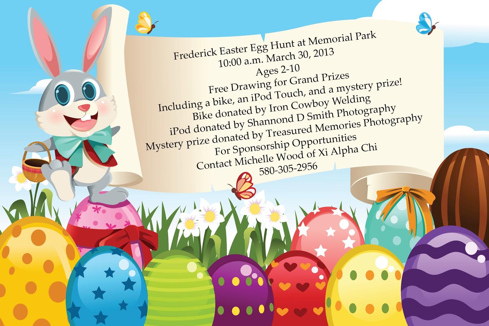 Frederick Easter Egg Hunt March 30 2013