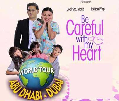 video replay of world tour for be careful with my heart sir chief and maya
