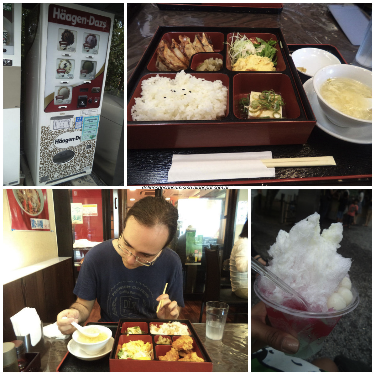Kyoto, Quioto, Japão, Japão, trip, travel, food, raspadinha, kakigouri, bentô, karaage, gyoza, sorvete, icecream, Haagen-Dazs