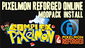 HOW TO INSTALL<br>Pixelmon Reforged Online Modpack [<b>1.12.2</b>]<br>▽