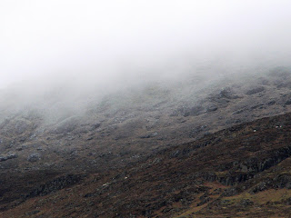 slieve foye in mist ireland copywright kerry dexter