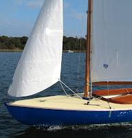 Baybird fore deck