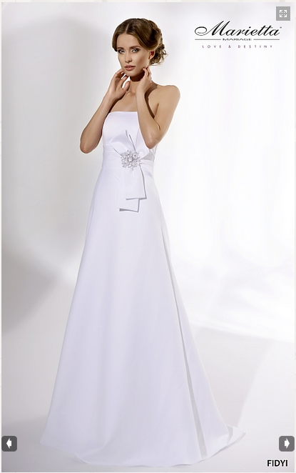 Vestido Marietta Mariage Modelo Fifyi