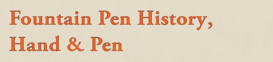 Fountain Pen History