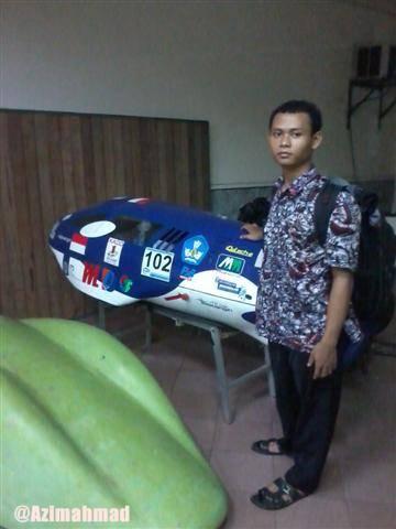 Kebanggaan : Mobil Sapu Angin ITS Yang Hemat Energi.