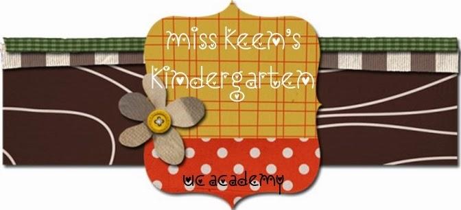Miss Keen's Kindergarten Class