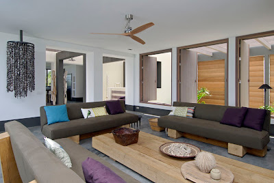modern architecture interior - caribbean