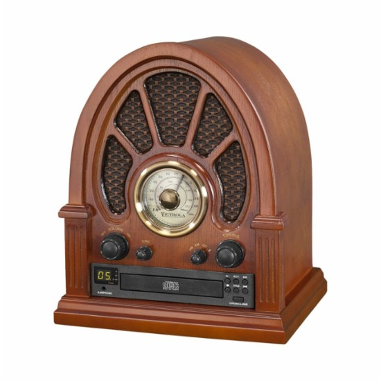 Get Yours Today! Old Time Radio! Victrola - Classic Audio System