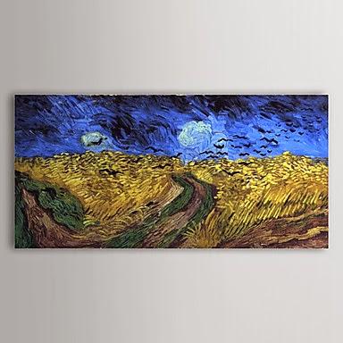 Campo de Trigo con Cuervos de Vincent Van Gogh