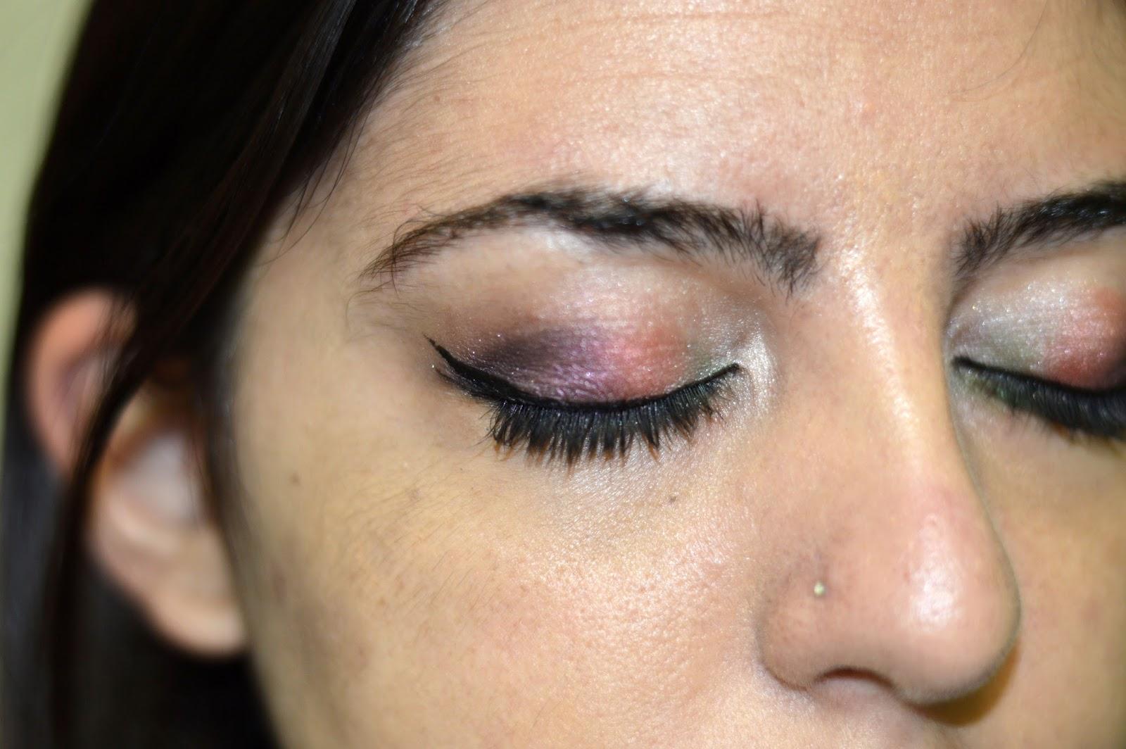 Hawaiian Luau Inspired Makeup Tutorial Vice 3 Palette Phd