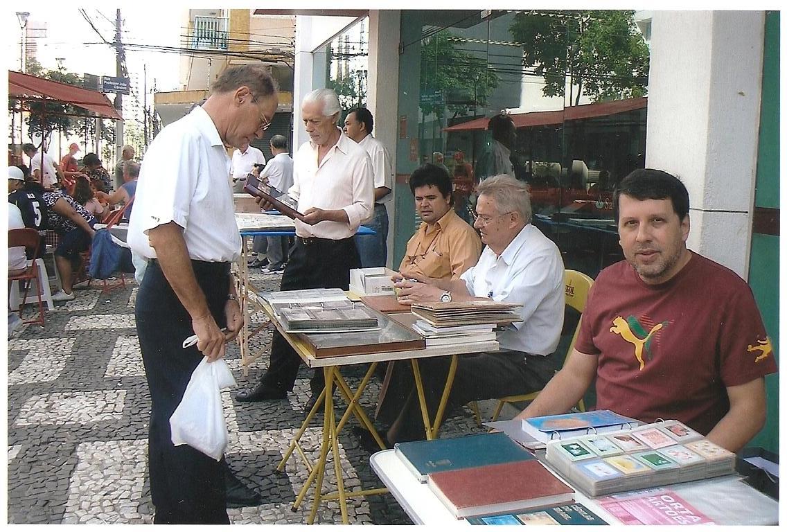 Aparador Hermes Dicoro ~ Clube Filatélico de Londrina Feira de Colecionadores de Londrina