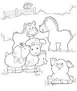 Dibujos de animales. Publicado por Dori Dorismo en 11:40 animales de granja